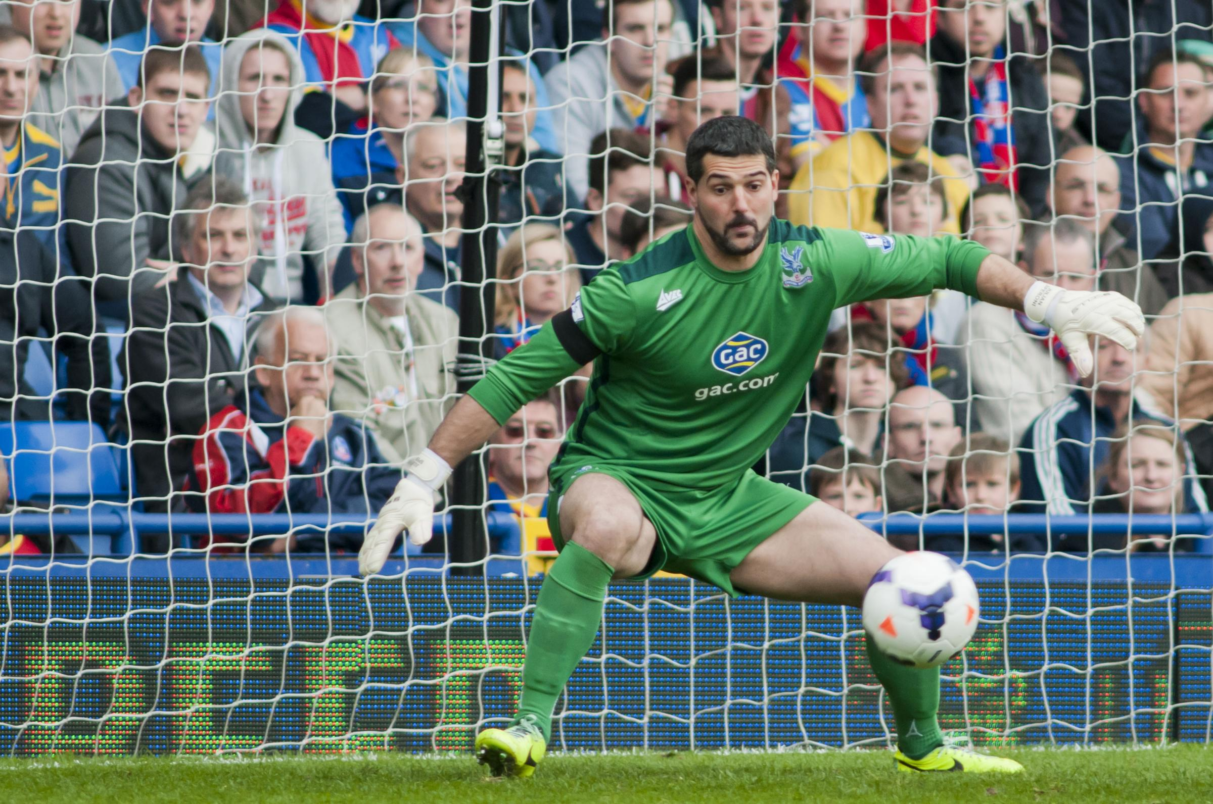 Palace number one Julian Speroni