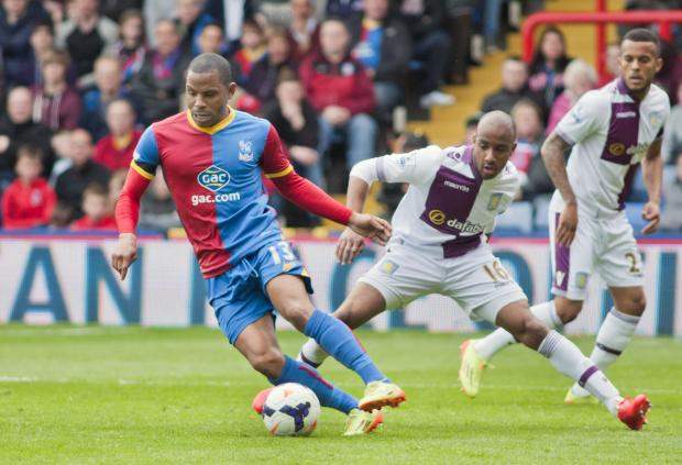 News Shopper: Winger Jason Puncheon fends off Villa's Fabian Delph