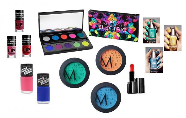 Brighten up your make-up this summer