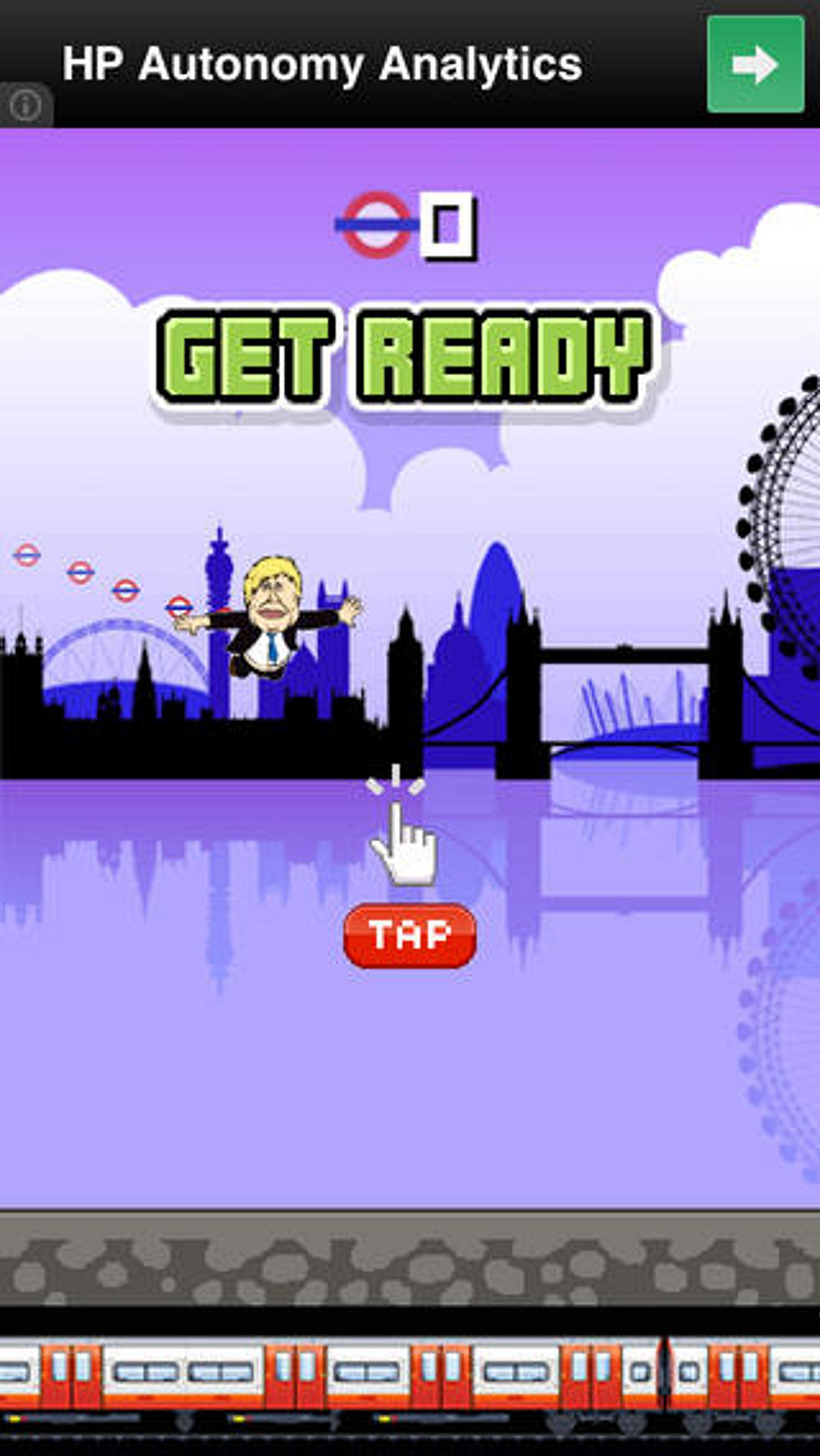 Move over Flappy Bird - here comes Flappy Mayor featuring Boris Johnson