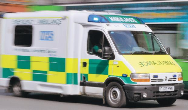 News Shopper: IN THE FRONTLINE: Ambulance workers and paramedics are coming under increasing threats of violence