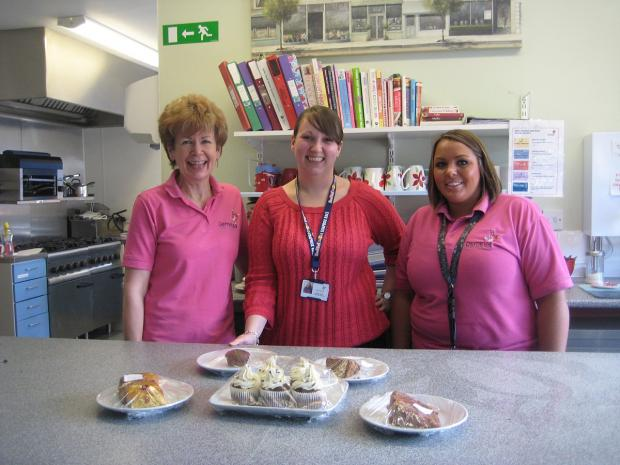 News Shopper: Staff members, pictured L-R Carol Ingrams, Emma Rowe and Lucy Curtis