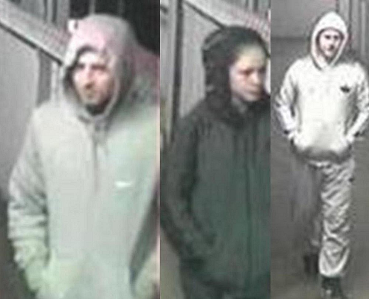 Do you know any of these three burglary suspects?