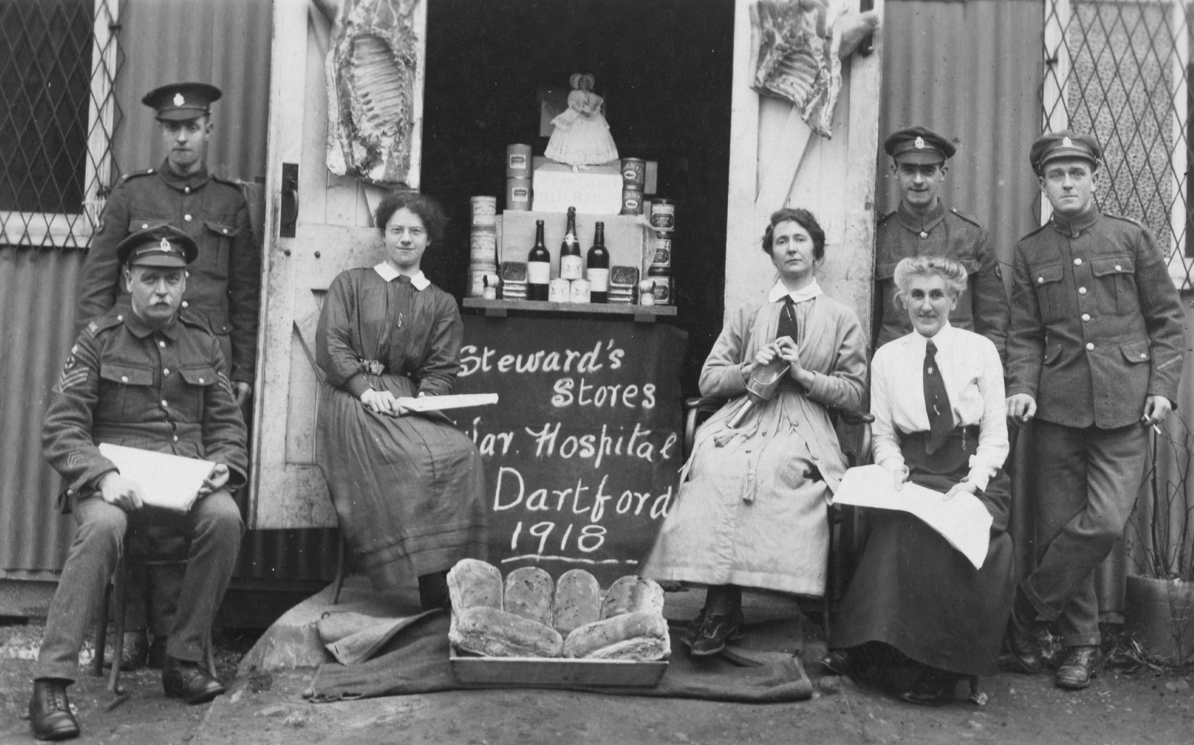 PICTURED: Memories of Dartford during the First World War revealed