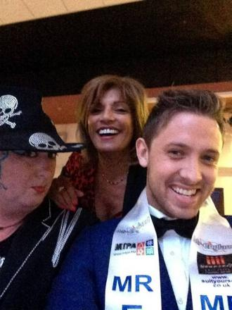 Me, My Selfie and I: Sidcup salon owner Shobie Lee, Mr England and Bye George