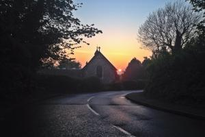 News Shopper reader takes sultry Biggin shot during twilight ride