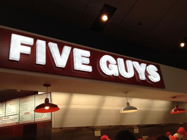 Five Guys launches in Bluewater