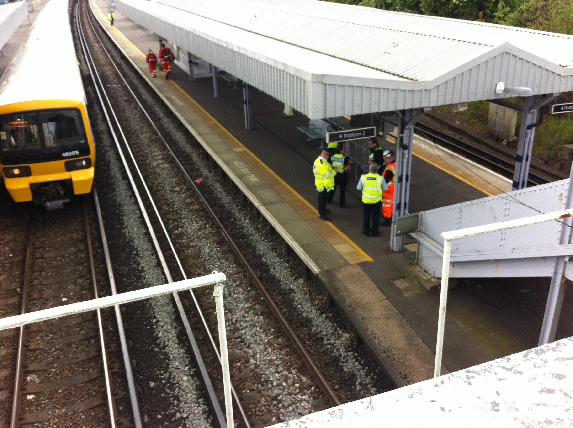 UPDATE: Woman dead after being struck by train at Petts Wood station