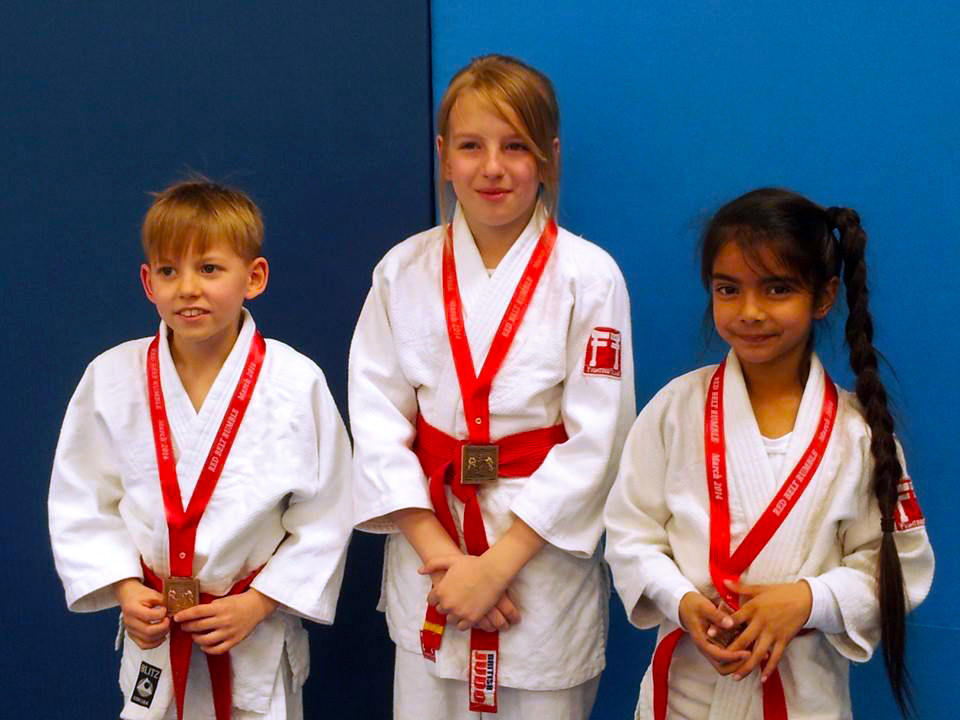 News Shopper: NHC red belt rumble: Dominic Zakarevicius, Gerda Bajournaite and Daya Sehota