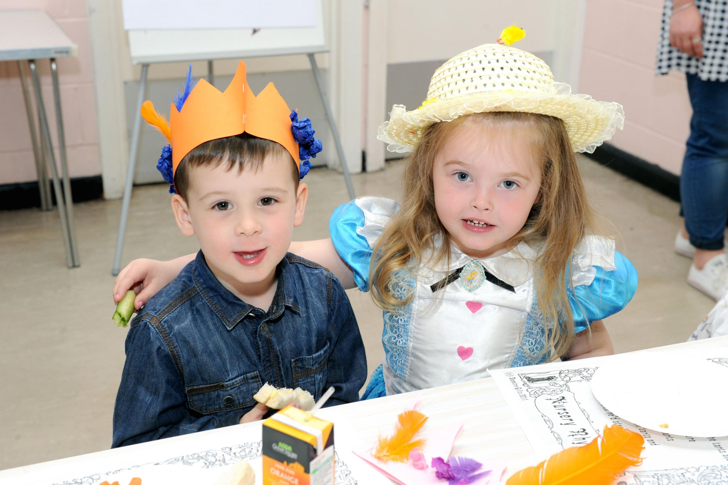 PICTURED: Mad hatter's tea party at Danson Centre in Bexleyheath