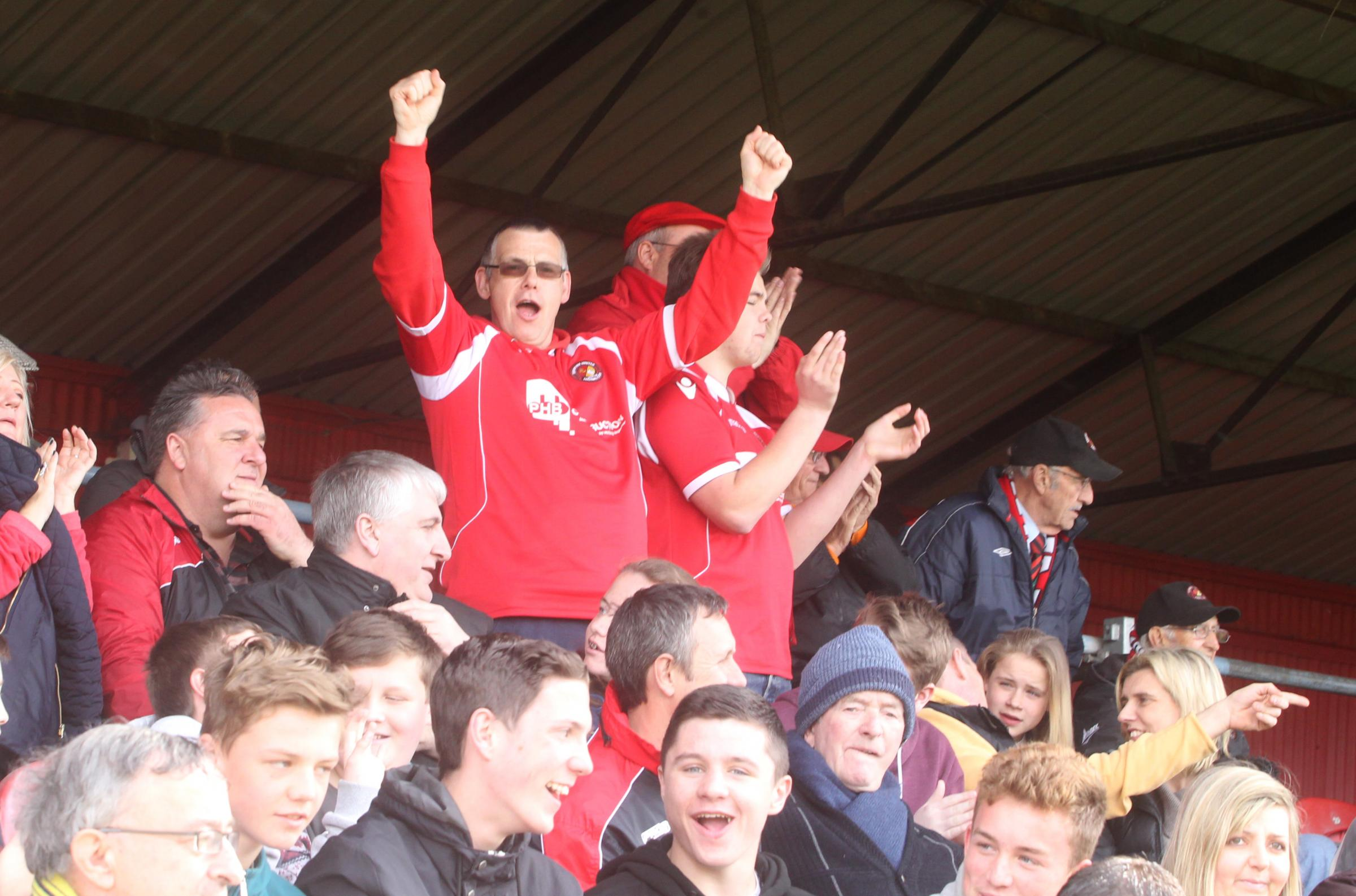 News Shopper: The fans join in the celebrations