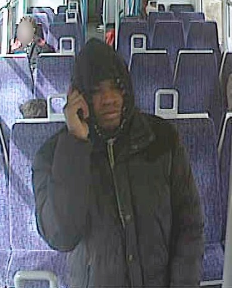 Do you know this man? Police have released a CCTV image of a man they want to speak to in connection wi