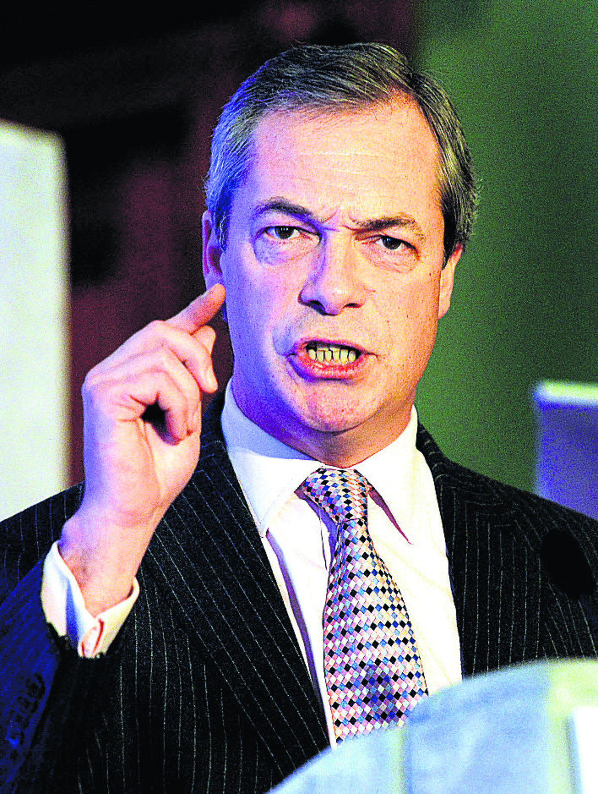 Dartford and Gravesham residents can vote for Nigel Farage on May 22.