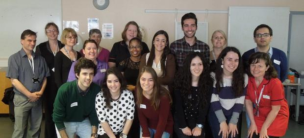The new Portugese nurses recruited by Lewisham and Greenwich NHS Trust