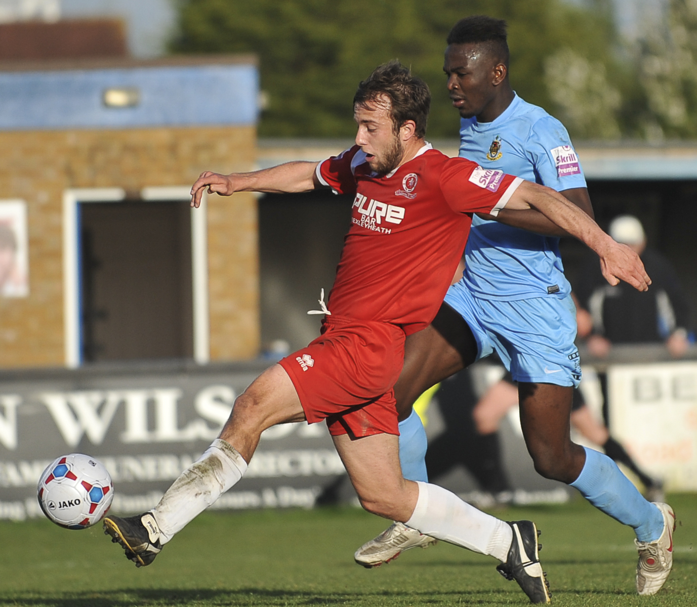 News Shopper: Gallagher scores the third goal for Welling