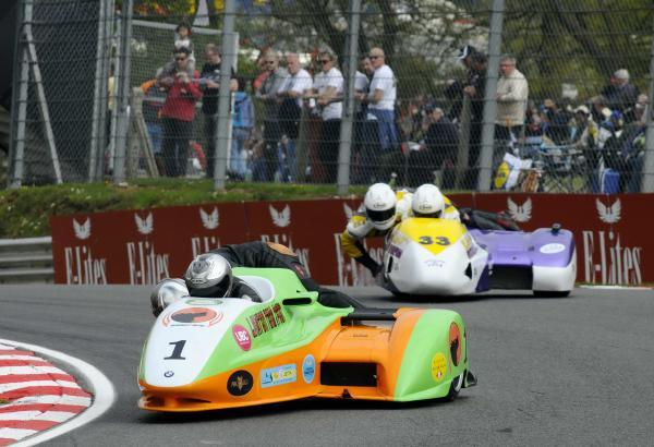 News Shopper: Roger Lovelock/Aki Alto (1) & Sean Hegarty/James Neave (33), took a win each in the Sidecar races.