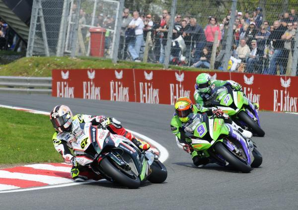News Shopper: Shane Byrne leads Chris Walker & James Ellison in race one