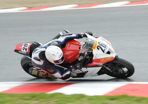 News Shopper: Thamesmead's Josh Wainwright finished 25th in the first Superbike race
