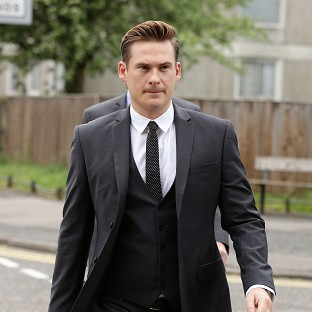 Foul-mouthed Plumstead Blue hunk Lee Ryan urinated in police cell