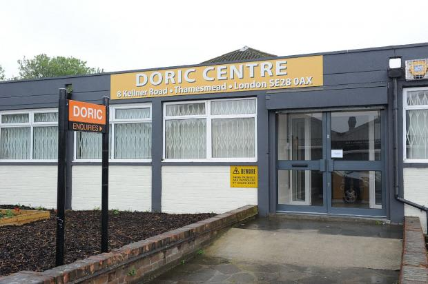 News Shopper: The Doric Centre - a laugh-free zone