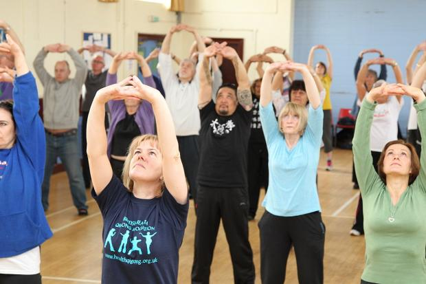 News Shopper: PICTURED: World Tai Chi and Qigong Day comes to Welling