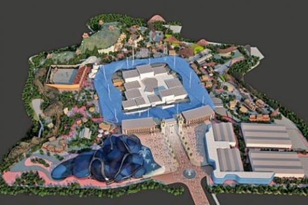 News Shopper: Plans for the new £2 billion Paramount Park