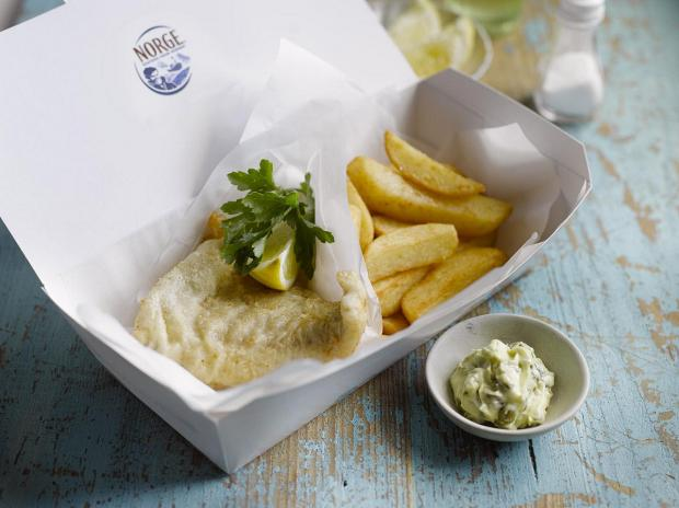 News Shopper: A delicious portion of fish and chips