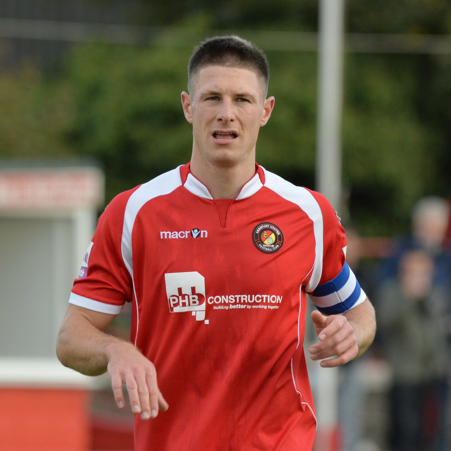 Paul Lorraine (above) skippered Fleet in what could have been his last ever game for the club. Picture by Keith Gillard.