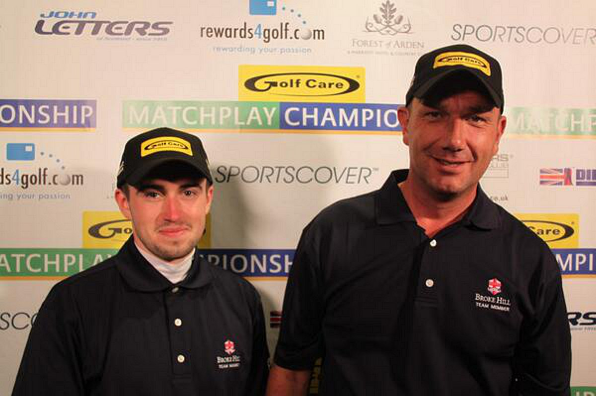 James Silcox (left) and Gary Copley