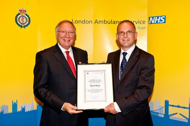 News Shopper: Eltham ambulance worker who helped in Soho Square bombing retires after 30 years