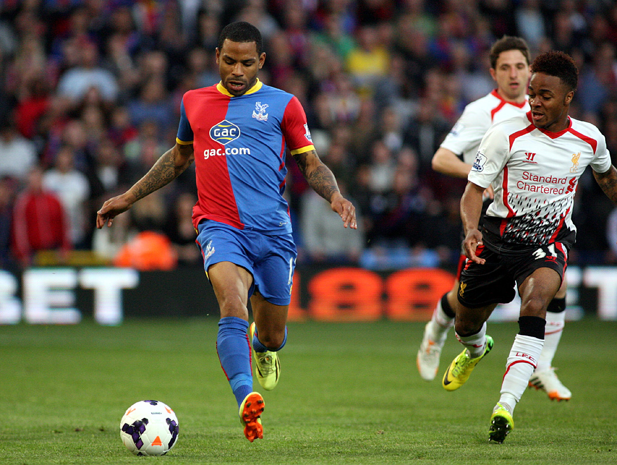 News Shopper: Jason Puncheon tries to get away from Raheem Sterling