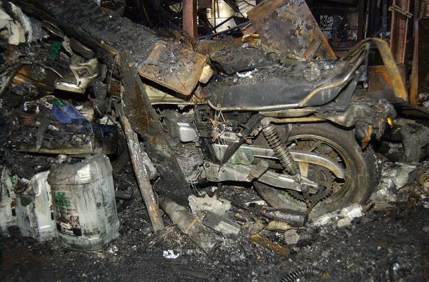 News Shopper: Greenwich motorcycle business races to recover after Blackwall Tunnel-closing fire wrecks building