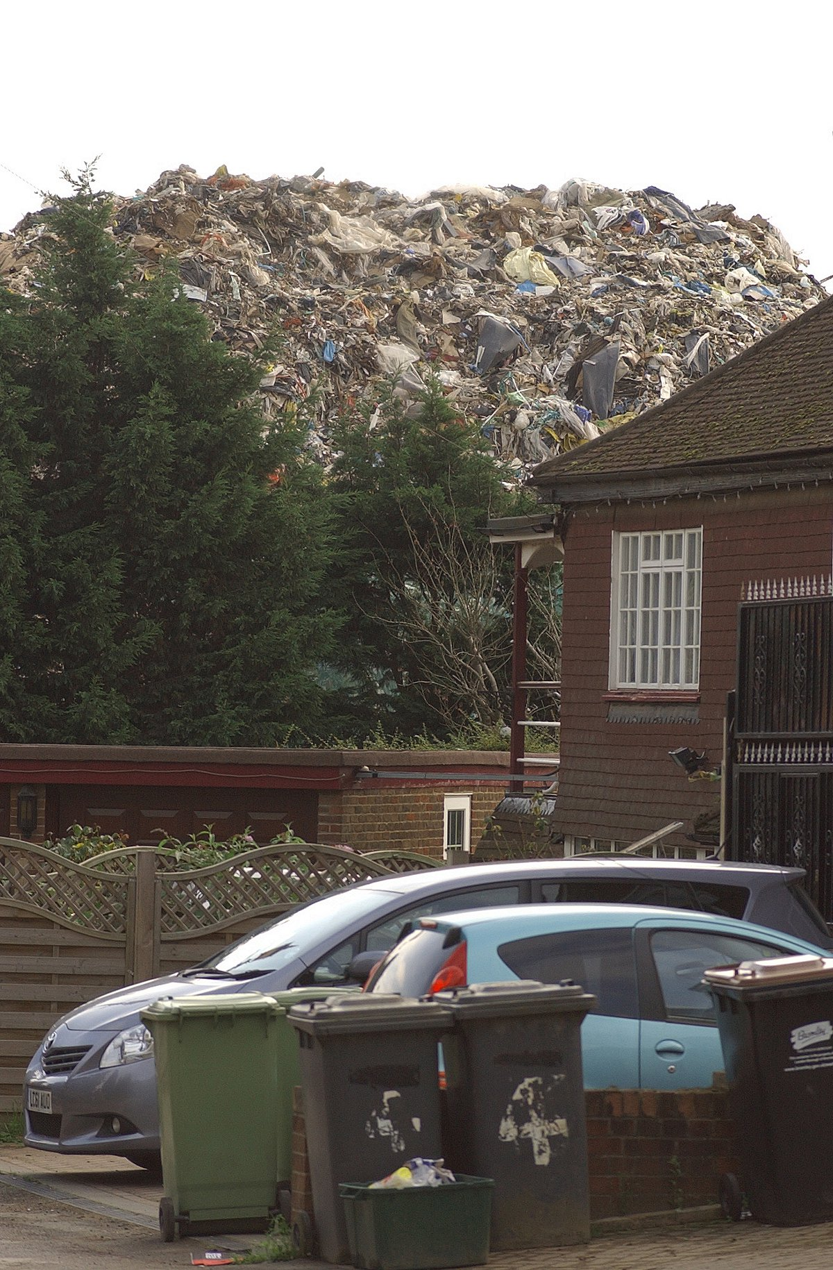 The Waste4Fuel site in St Paul's Cray