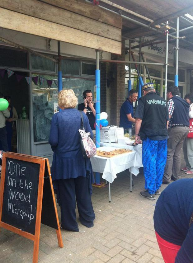 News Shopper: Bank Holiday stall