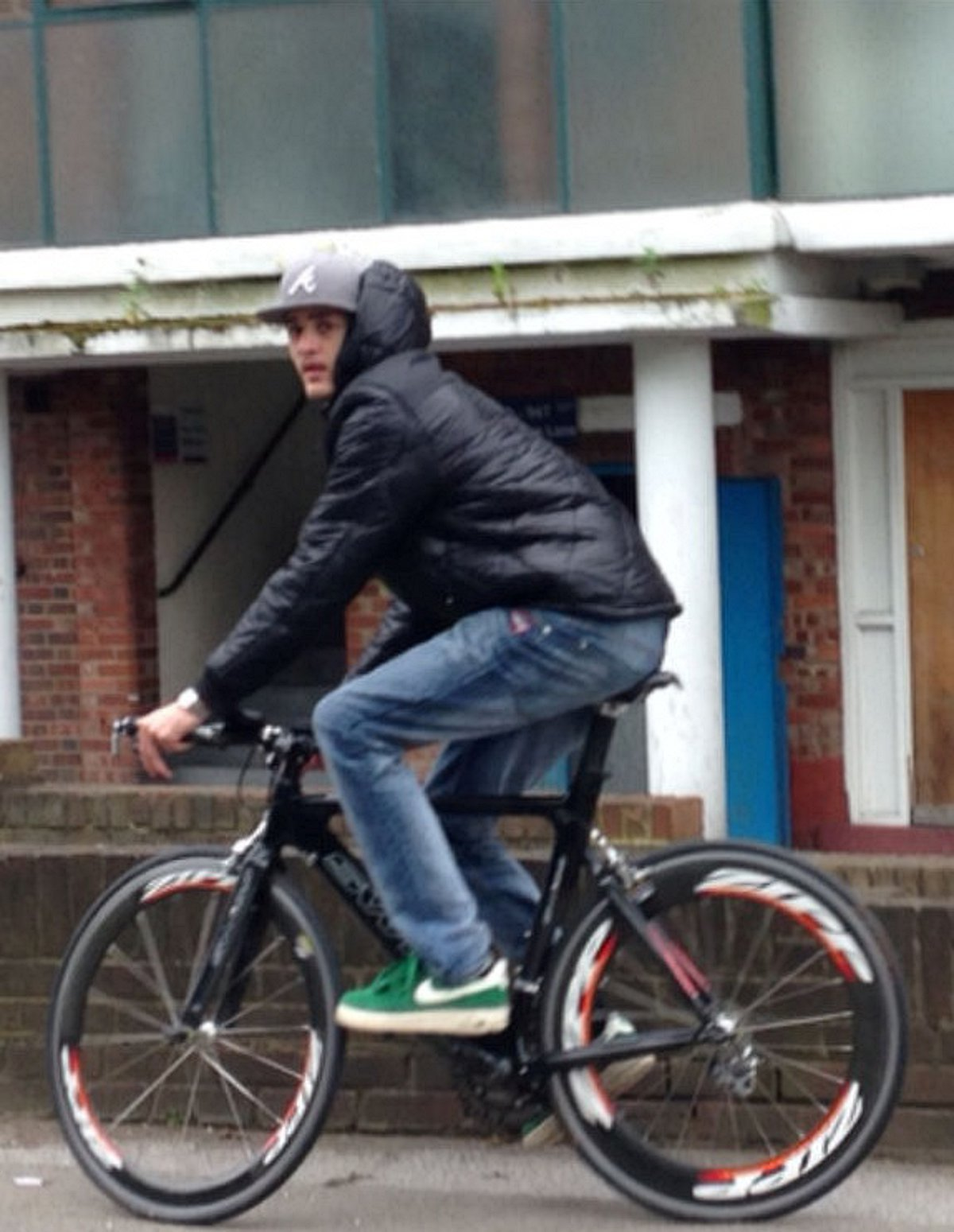 Picture of stolen championship bike being raced through Hither Green goes viral