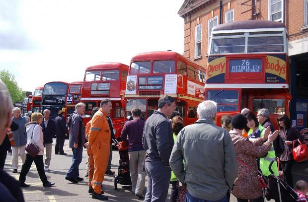News Shopper: PICTURED: Catford bus garage celebrates centenary with open day