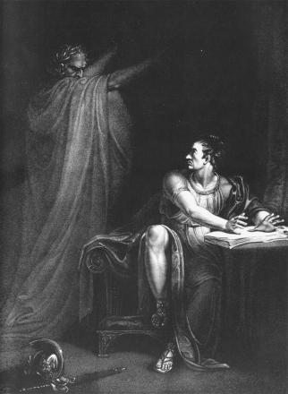 Brutus and the ghost of Caesar
