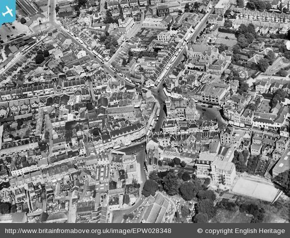 News Shopper: Town centre, Bromley, 1929. Photo from English Heritage