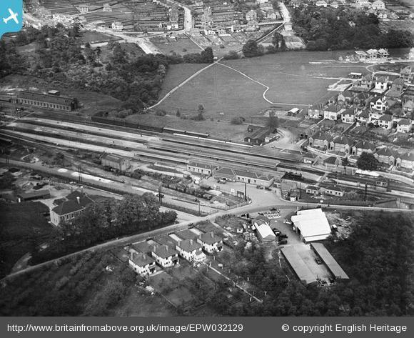 News Shopper: Orpington station, 1930. Photo from English Heritage