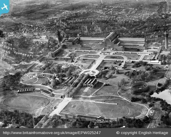 News Shopper: Crystal Palace Park and Crystal Palace, Penge, 1928. Photo from English Heritage