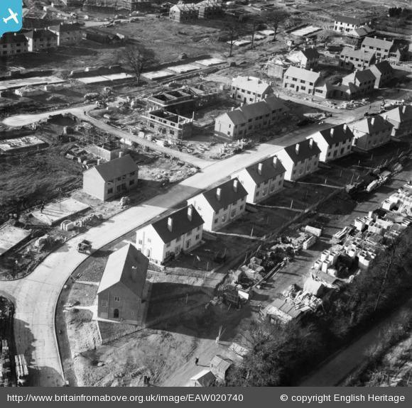 News Shopper: New housing in Clarendon Way, St Paul's Cray, 1948. Photo from English Heritage