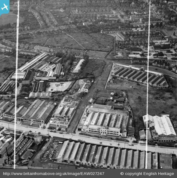 News Shopper: Sydenham Industrial Estate, New Beckenham, 1949. Photo from English Heritage