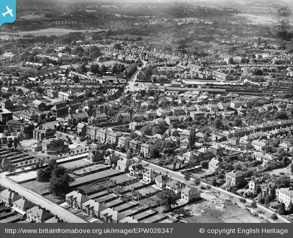 News Shopper: The town, Bromley, from the east, 1929. Photo from English Heritage