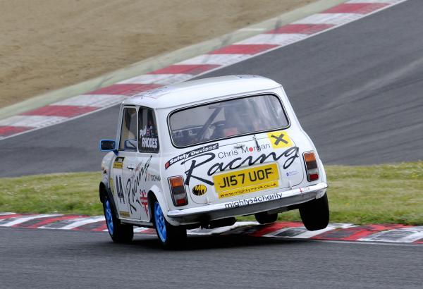 News Shopper: Paul Rhodes two wheels his way to winning the Mighty Mini race