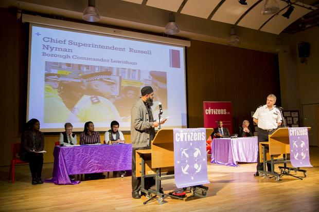 News Shopper: Citizens UK presents manifesto to Lewisham's leaders at Deptford Green School