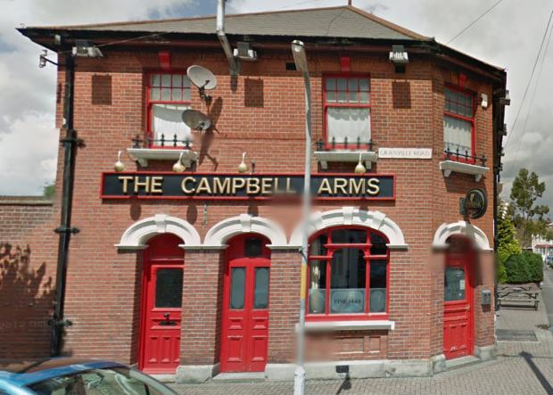 Crowbar wielding robber steals £500 and jewellery from Gravesend pub