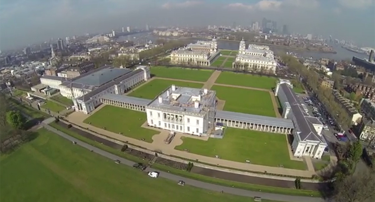 VIDEO: See awesome aerial footage of Greenwich in London From The Air drone film