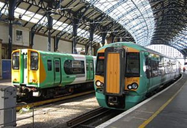 Rush hour disruption on Southern trains