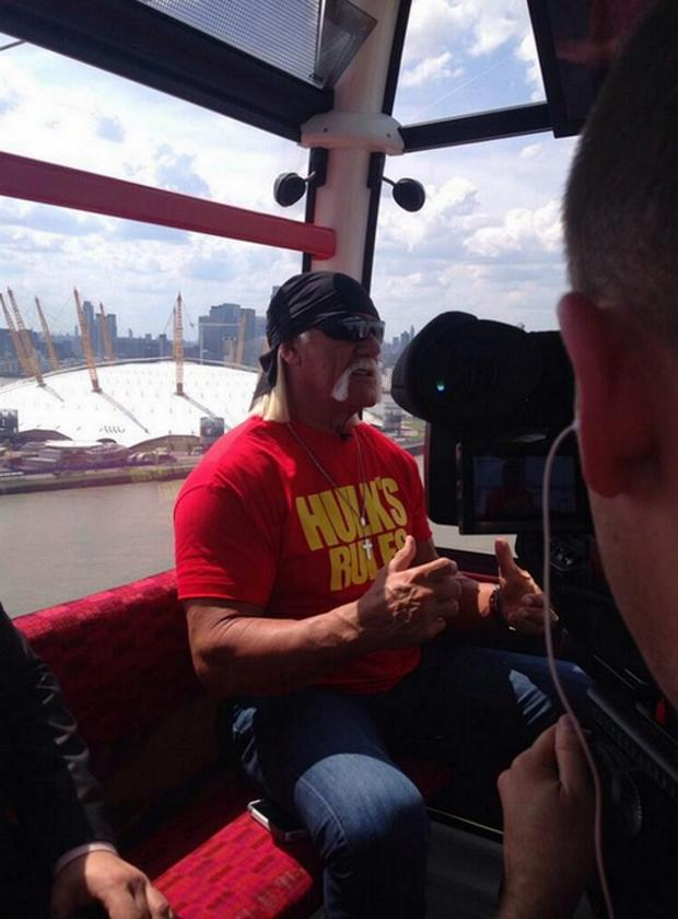 News Shopper: Hulkamania! The O2's picture