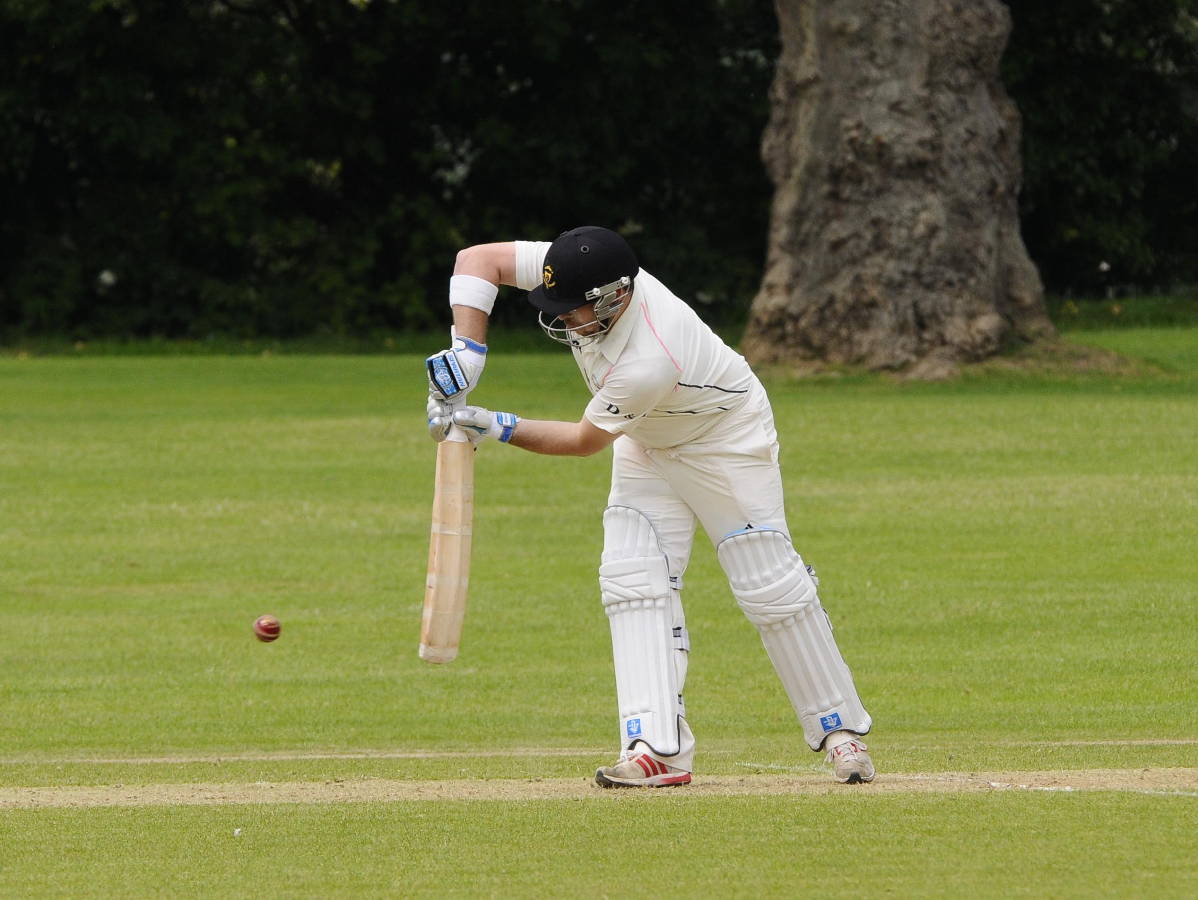 Dan Stickels hit 32 runs in Hartley's victory over Bromley